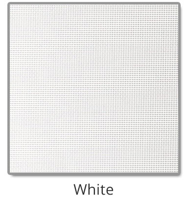 TEXTILENE® 80 solar screen in White color blocks up to 80% of the sun rays, reducing heat transfer through windows.
