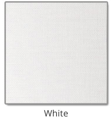 TEXTILENE® 90 solar screen in White color blocks up to 90% of the sun rays, reducing heat transfer through windows.