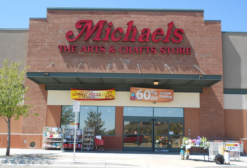 Michaels' Storefront Window Film by A Better Tint