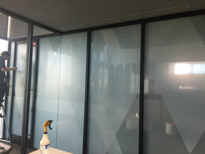 3M Climate Pro printed window film at State Farm
