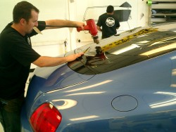 Window tinting Scottsdale AZ fitted to Bentley by 3M Authorized Dealer – A Better Tint
