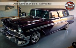 Chevy Nomad 1957 fitted with 3M window tint by A Better Tint of Scottsdale and Gilbert Phoenix AZ